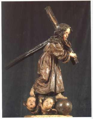 Alonso Cano: Niño de la Pasión. Iglesia de San Fermín de los Navarros, Madrid.