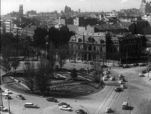 Palacio de Uceda en Colón, derribado a mediados de los años 60 del siglo XX.