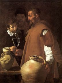 Diego de Silva y Velázquez: El Aguador de Sevilla. Apsley House, Londres.
