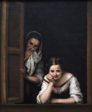 Bartolomé Esteban Murillo: Joven y su dueña. National Gallery, Washington.