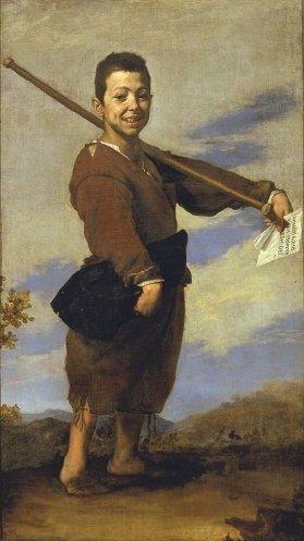 José de Ribera: El Patizambo. Museo del Louvre, París.