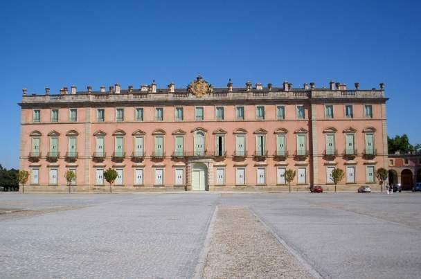 Vista del Palacio de Riofrío construído por Virgilio Rabaglio.