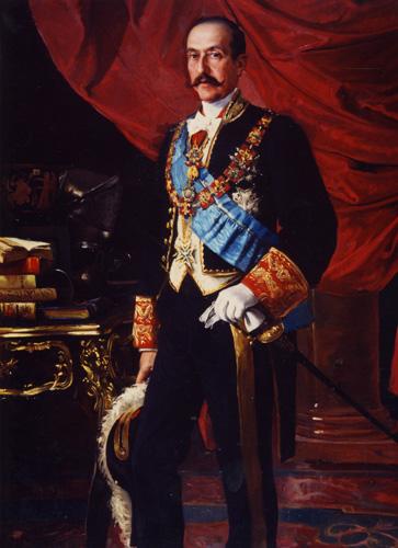 José Soriano Fort: Retrato de don Enrique de Aguilera y Gamboa, XVII Marqués de Cerralbo. Museo Cerralbo, Madrid.