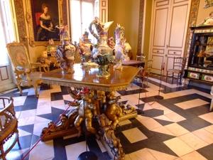 Vista del Salón de Confianza. Museo Cerralbo, Madrid.