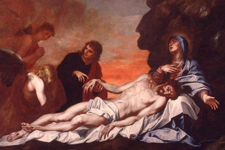 Alonso Cano: Piedad, ca. 1660. Museo Cerralbo, Madrid.