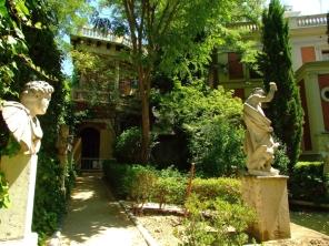 Vista del Jardín del Museo Cerralbo.