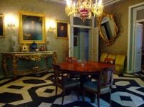 Vista del Salón amarillo del Museo Cerralbo.