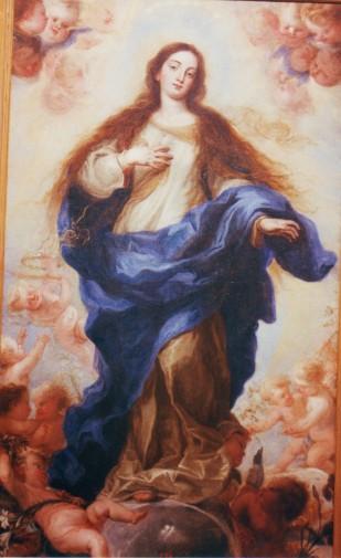 Juan Carreño de Miranda: Inmaculada Concepción. Museo de Bellas Artes de Guadalajara.