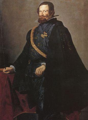 Diego Velázquez: Retrato del Conde Duque de Olivares. Colección Fernández Araoz.