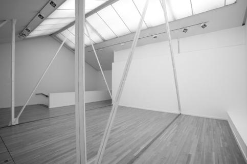 Espacio de la galería Helga de Alvear. Foto: Joaquín Cortes.