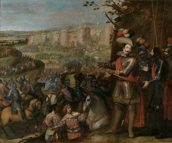 Vicente Carducho: Expugnación de Rheinfelden. Museo Nacional del Prado, Madrid.