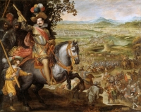 Vicente Carducho: Socorro de Constanza. Museo nacional del Prado, Madrid.
