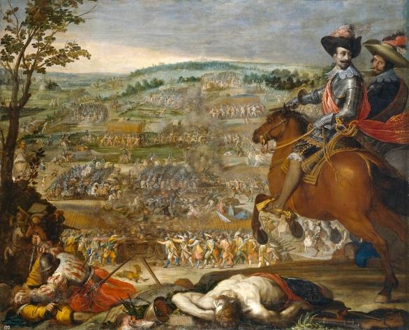 Vicente carducho: Victoria de Fleurus. Museo Nacional del Prado, Madrid.