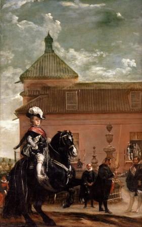 Diego Velázquez: La lección de equitación del príncipe Baltasar Carlos, ca. 1639-1640. Gran Bretaña, Colección privada.
