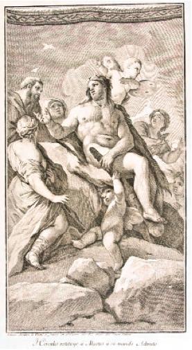 Hércules restituye a Alceste a su marido Admeto. Museo Cerralbo, Madrid.