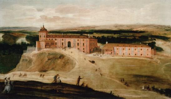 Jusepe Leonardo: Vista del Palacio Real de Aceca, ca. 1630. Madrid, Patrimonio Nacional.