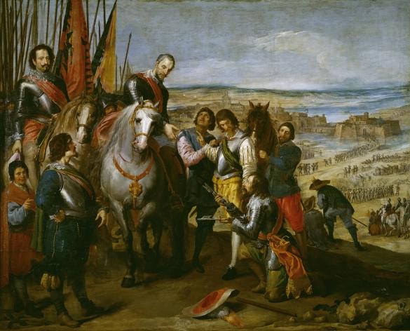 José Leonardo: Rendición de Juliers. Museo Nacional del Prado, Madrid.