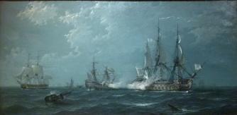 Lucha de navios