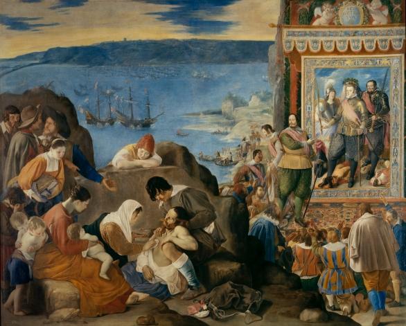 Juan Bautista Maíno: Reconquista de la Bahía de Brasil. Museo Nacional del Prado, Madrid.