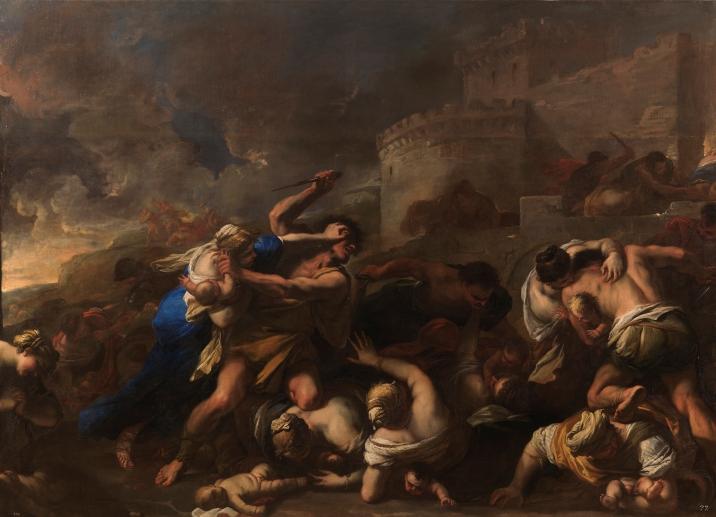 Luca Giordano: La degollación de los Inocentes. Museo Nacional del Prado, Madrid.