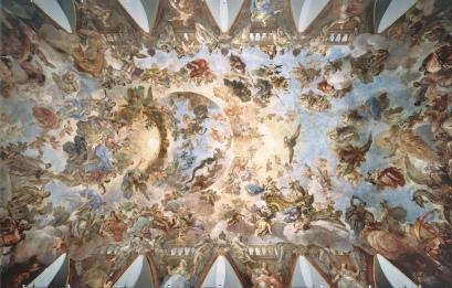 Luca Giordano: Alegoría del Toisón de Oro. Centro de Estudios del Museo Nacional del Prado, Madrid.