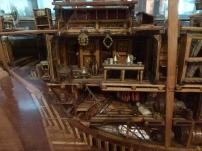 Maqueta del interior de un barco