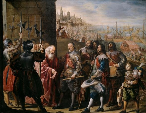 Antonio de Pereda: Socorro de Génova. Museo Nacional del Prado, Madrid.