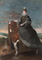 Diego Velázquez: Retratro ecuestre de Margarita de Austria. Museo Nacional del Prado, Madrid.