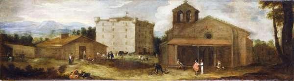 Benito Manuel de Agüero: Vista del Campillo. Museo Nacional del Prado, en préstamo a Patrimonio Nacional.