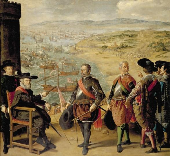 Francisco de Zurbarán: Defensa de Cádiz. Museo Nacional del Prado, Madrid.