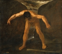 Francisco Zurbarán: Hércules separando los montes. Museo Nacional del Prado, Madrid.