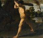 Francisco Zurbarán: Hércules y el toro de Creta. Museo Nacional del Prado, Madrid.