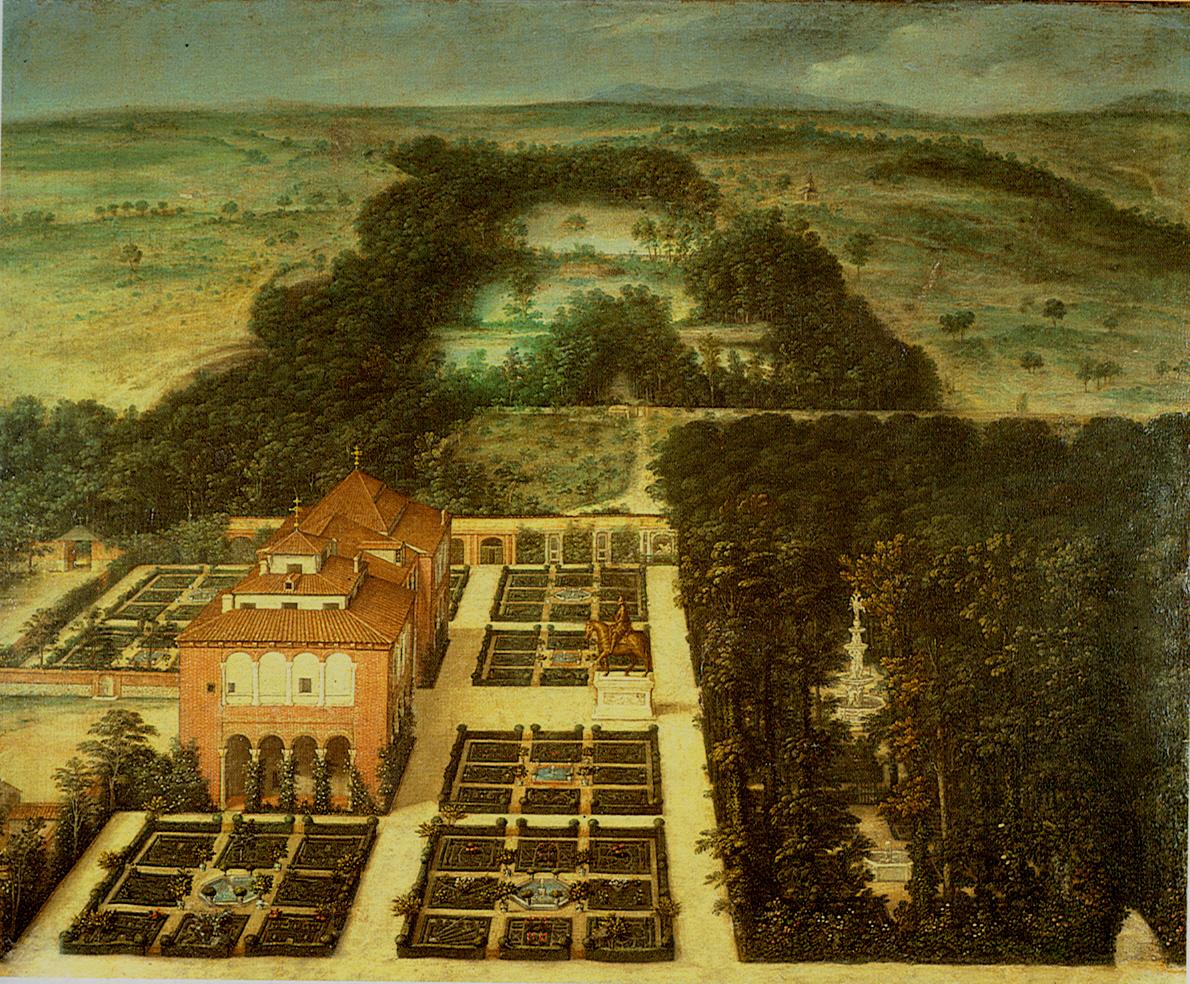 Ista de la casa de campo de madrid investigart for Casa y jardin madrid