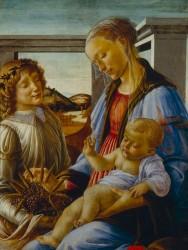 Botticelli: Virgen con el Nino.