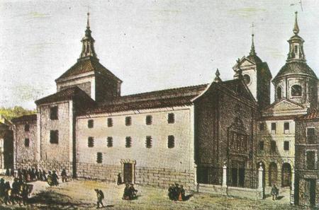 Convento de las Victorias, Madrid.