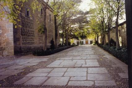 Entrada a la Casa principal de El Santo.