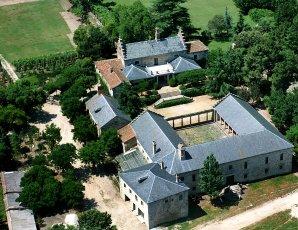 Vista aérea del conjunto de la Fresneda.