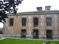 Lateral de la casa principal de El Santo.