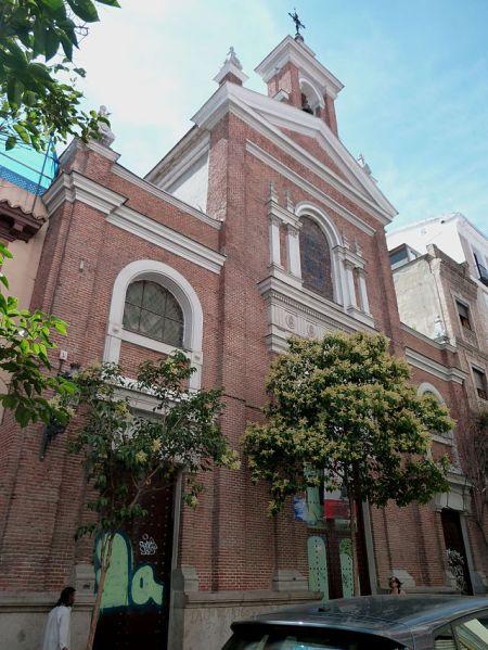 Oratorio del Santo Cristo del Olivar, Madrid.