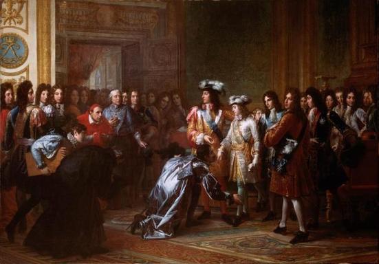 Felipe V proclamado rey de España.