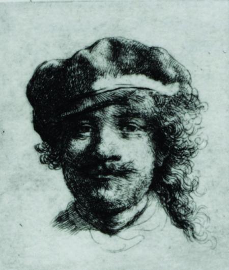 Rembrandt: Autorretrato.