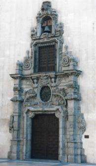 Pedro de Ribera: Fachada del Monte de Piedad de Madrid.