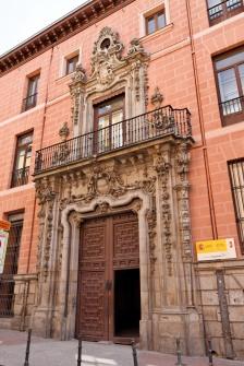 Pedro de Ribera: Portada del Palacio de los Marqueses de Perales.