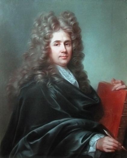 Joseph Vivién: Robert de Cotte. Museo del Louvre, París.
