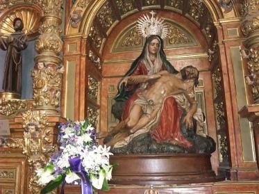 Luis Salvador Camona: Piedad de la Iglesia de San Martín en León.