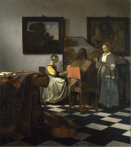 Vermeer: El concierto.