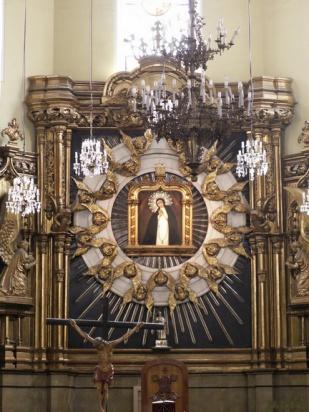 Retablo principal de la Virgen de la Paloma, Madrid.