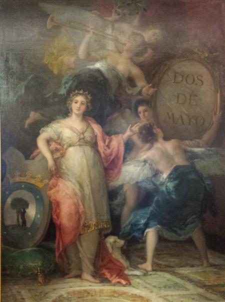 Francisco de Goya: 2 de Mayo. Madrid, Museo de Historia de Madrid.
