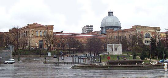 Vista exterior del Museo Nacional de Ciencias Naturales de Madrid.