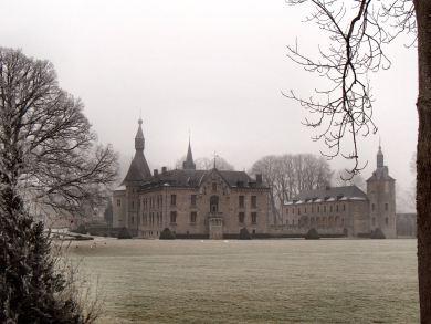 Vista del Château de Boussu.